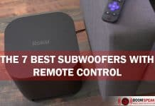 Best Subwoofers With Remote Control