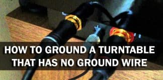 How To Ground A Turntable That Has No Ground Wire