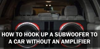 How To Hook Up A Subwoofer To A Car Without An Amplifier