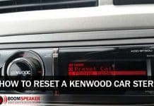 How to Reset Kenwood Car Stereo