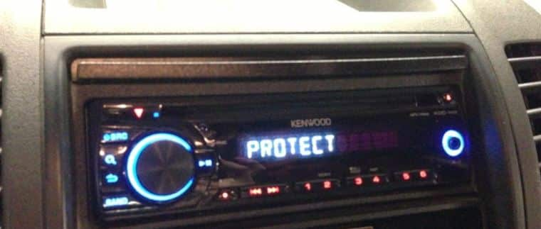 Kenwood Car Stereo Protect Reset