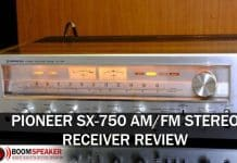 Pioneer SX-750 Stereo Receiver Review