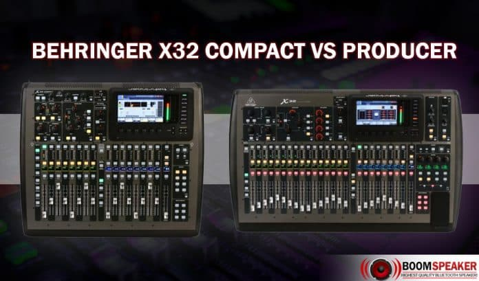 X32 Compact Vs Producer
