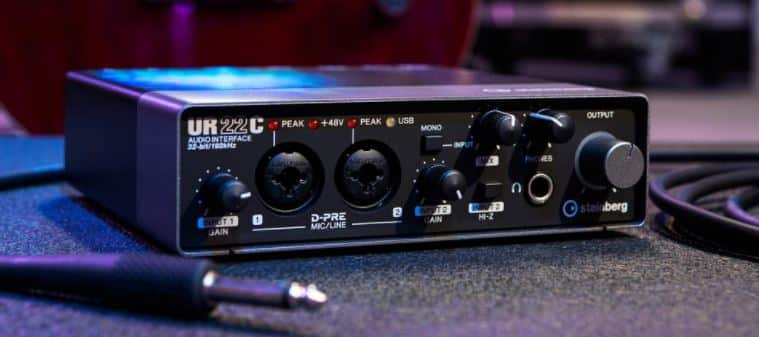 audio interface and amp