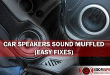 Car Speakers Sound Muffled (Easy Fixes)