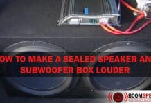 How To Make A Sealed Speaker And Subwoofer Box Louder