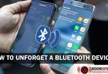 How to Unforget a Bluetooth Device