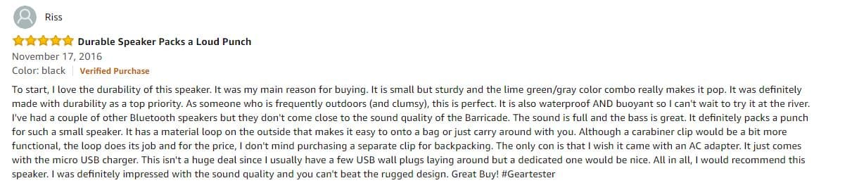 skullcandy speaker reviews