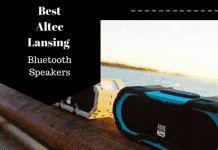 Round up of Altec Lansing Bluetooth Speaker line
