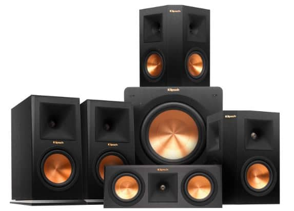 Klipsch RP-160M Home Theater Package