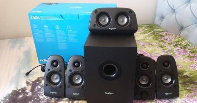 Logitech Z506 speaker for projectors