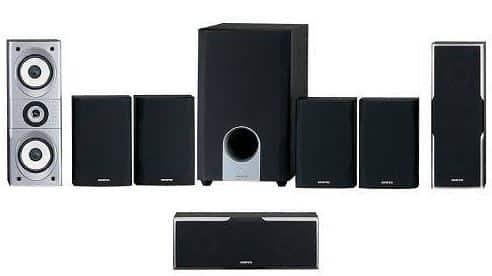 Onkyo SKS-HT540 7.1 speaker for projector