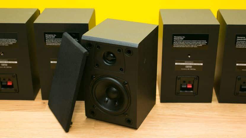 monoprice 5.1 speakers projector