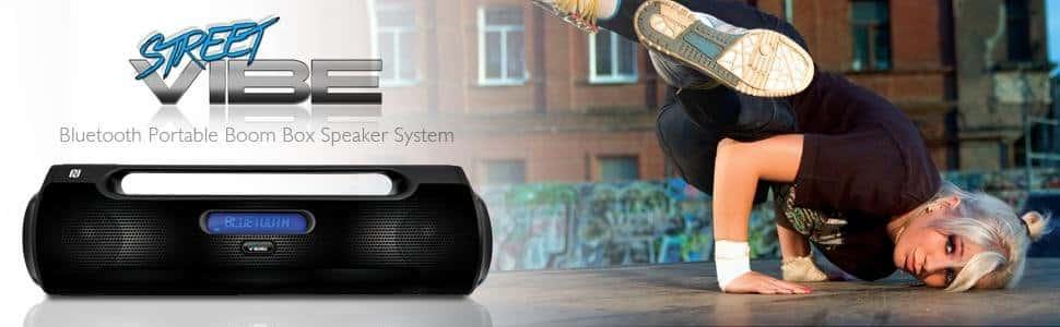 Pyle Street Vibe boombox speakers