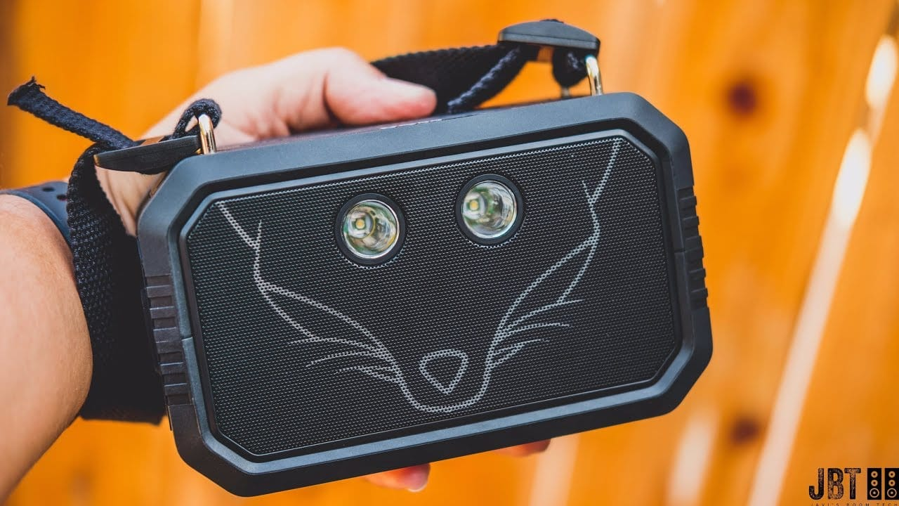 doss traveler portable boombox
