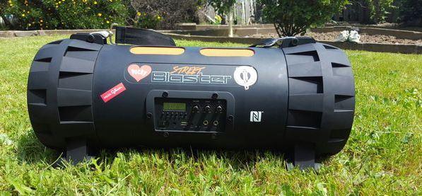 most powerful boombox Pyle street blaster X