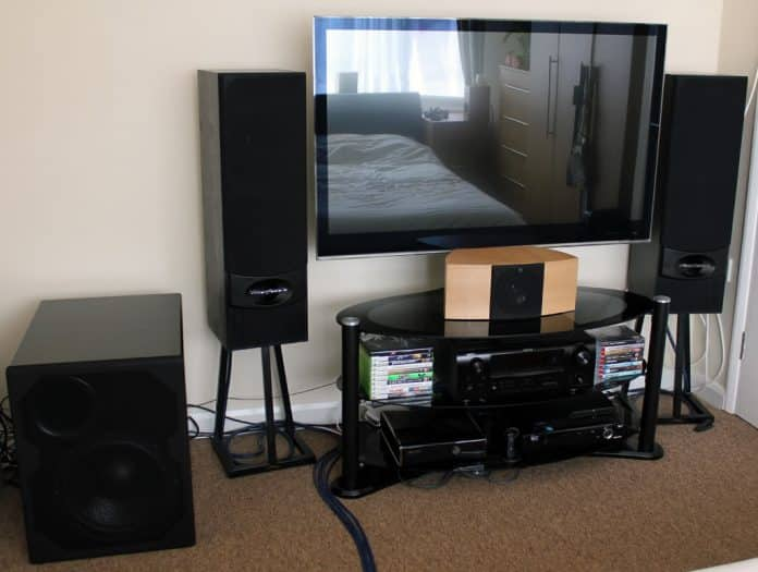 How To Connect External Speakers To A TV Without Audio Output -