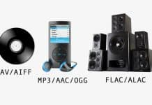 flac vs aiff formats