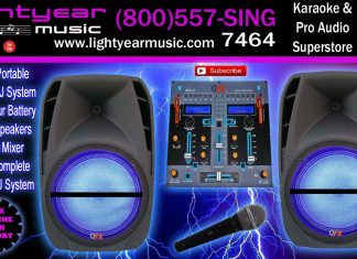 bluetooth dj speakers