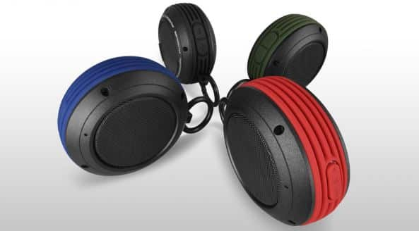 clip on speakers for runners