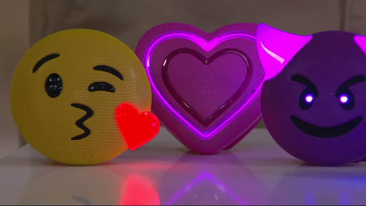 Bluetooth Wireless Emoji Speaker