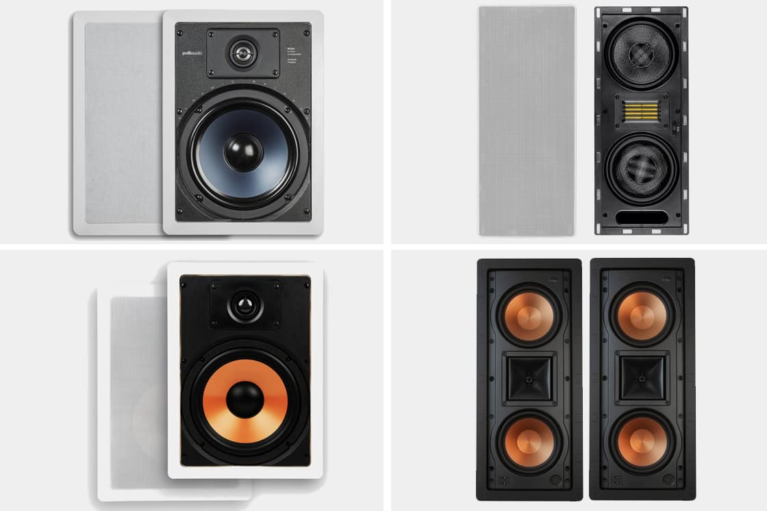 Best In Wall Speakers With Enclosure -