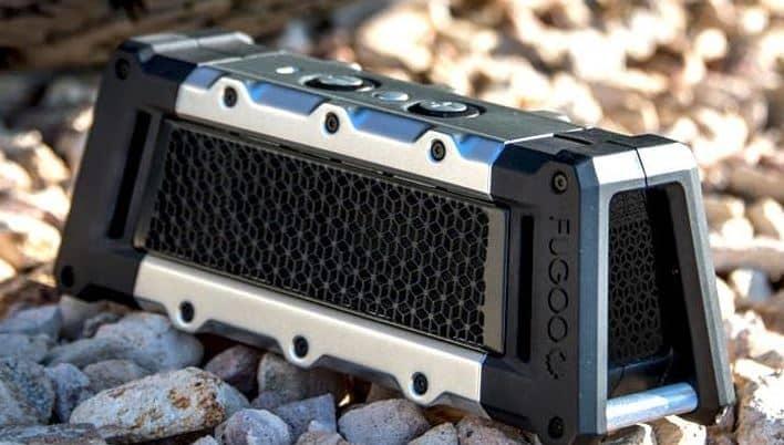 fugoo tough outdoor portable speaker