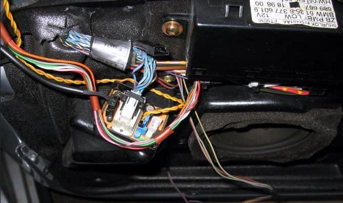 car door speaker issue continuity