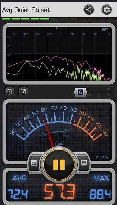 Decibel X for iphone and android