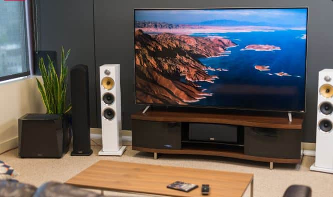 home theater 4k tv