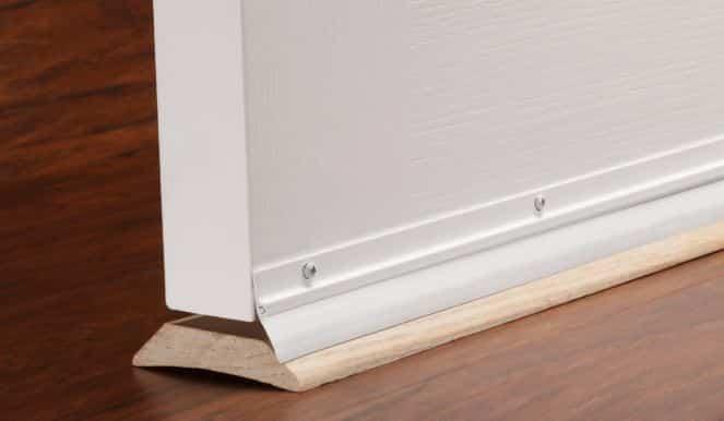 Door Sweep for home theater soundproofing