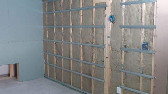 decoupling drywall home theater soundproofing