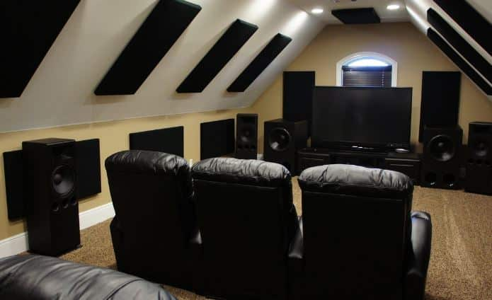 home theater sound absorbtion panels
