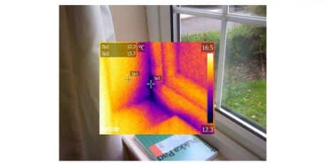 infrared thermometer noise leak checks