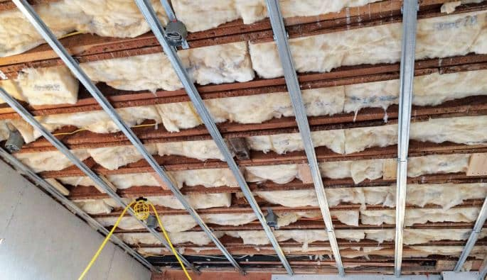 isolate ceiling joists home theater