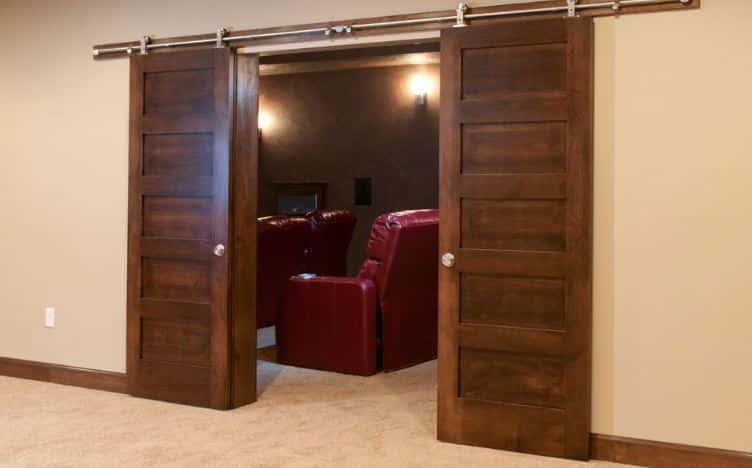soundproof your home theater door